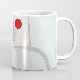 basketball court illustration - ball sport design Coffee Mug
