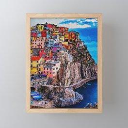 Italy, Cinque Terre Framed Mini Art Print