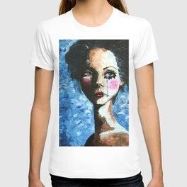 Sad Clown Girl T-shirt