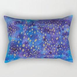 Golden encounter Rectangular Pillow