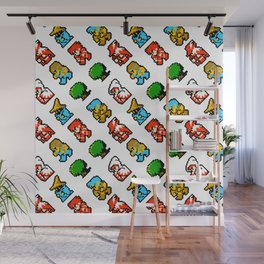 Final Fantasy (NES) pattern Wall Mural
