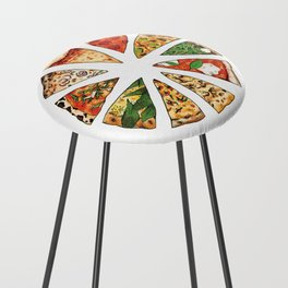 Feast of St. Pizza: Philadelphia Edition Counter Stool