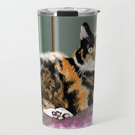 Cali Q Kitten Travel Mug