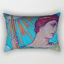 Minerva Goddess Of Wisdom Rectangular Pillow