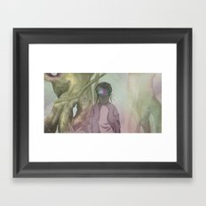 CRIKCET MIND O1 Framed Art Print