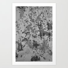 My Ink op 3 Art Print