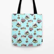 dog averywhere Tote Bag