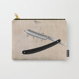 patent Razor Carry-All Pouch