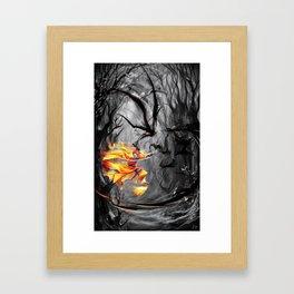 Inkmastering Framed Art Print