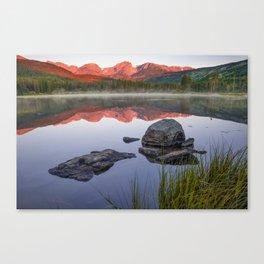 Sunrise Over Sprague Lake - Rocky Mountain National Park Canvas Print