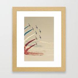 colours of france Framed Art Print