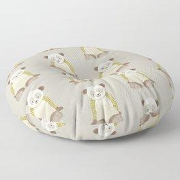 Whimsical Giant Panda Floor Pillow