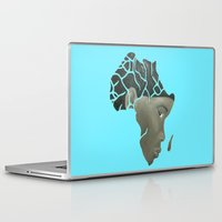african Laptop & iPad Skins featuring African Continent by ArtSchool