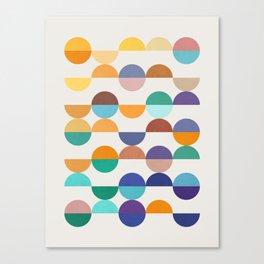 Minimalist pattern XIX Canvas Print