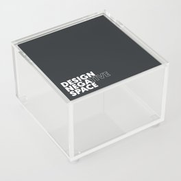 Design the Space Acrylic Box