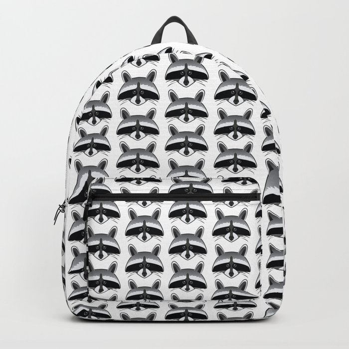 Teeny Tiny Coonie Pattern Backpack