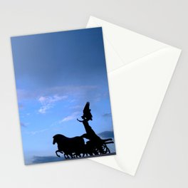 Sky chariot Stationery Cards