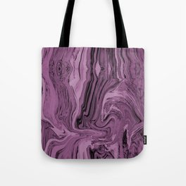 Framed  magenta marble Tote Bag