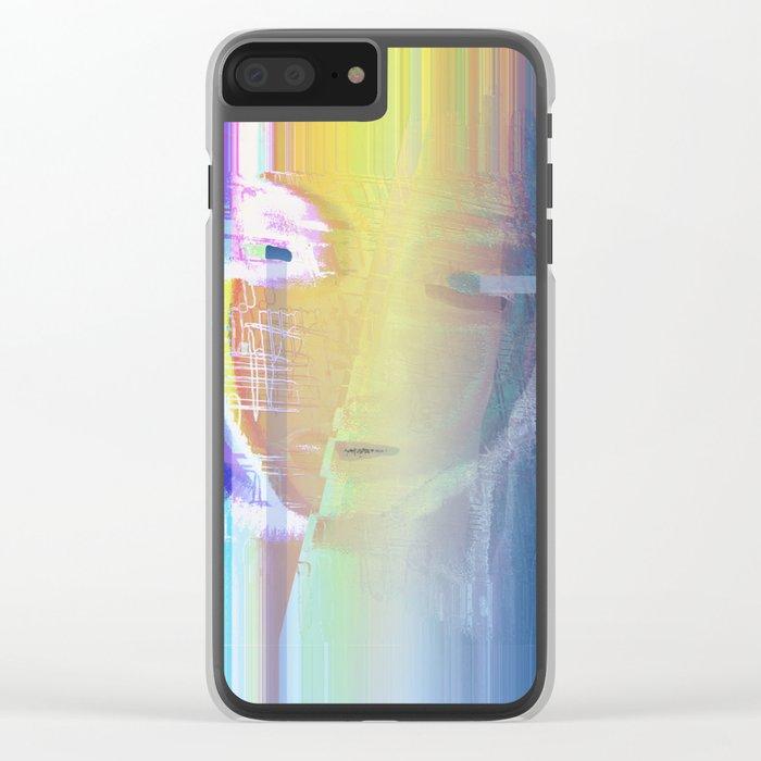 Ella / She / Portrait 2 - Column Clear iPhone Case