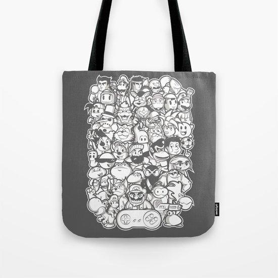 Super 16 bit  Tote Bag