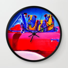 Car Ride Wall Clock