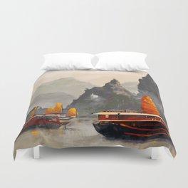 Ha Long Bay Duvet Cover