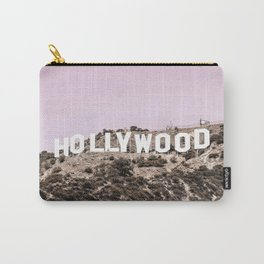 Hollywood Hills Pastel Pink Carry-All Pouch