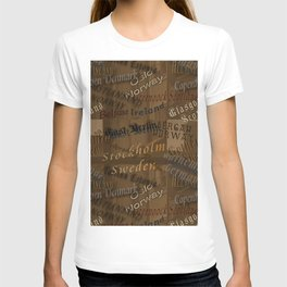 See the World Travel Plans T-shirt