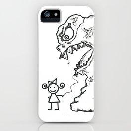 Sally's New Pet iPhone Case