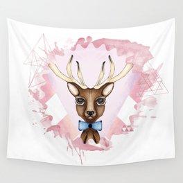Pink Deer - Ciervo Rosa Wall Tapestry