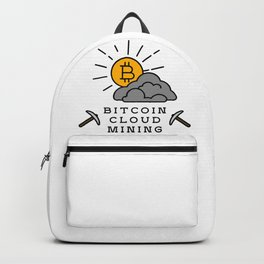 Bitcoin Cloud Mining Backpack