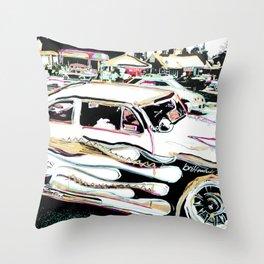 Detroit/Car/brittmarks Throw Pillow