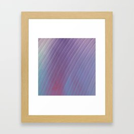 Plum Framed Art Print
