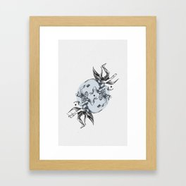 Cosmic Dancer Framed Art Print