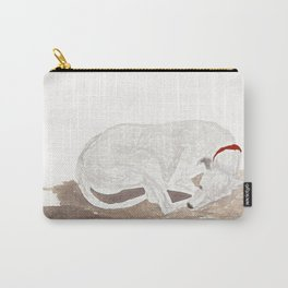 Blondie - sleeping dog Carry-All Pouch