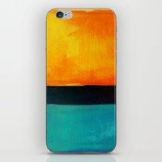 Mark Rothko Interpretation Orange Blue iPhone & iPod Skin