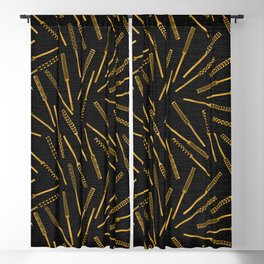 Scattered Ohe Kapala Blackout Curtain