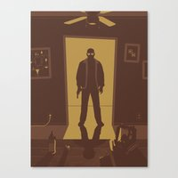 breaking bad Canvas Prints featuring Breaking Bad by Brandon Riesgo