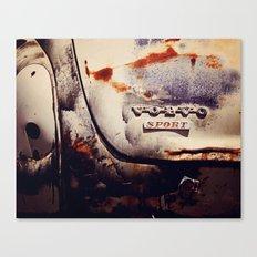 Volvo Sport Canvas Print