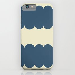 My Humps - Blue and Beige iPhone Case