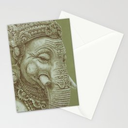 Ganesh green Stationery Cards