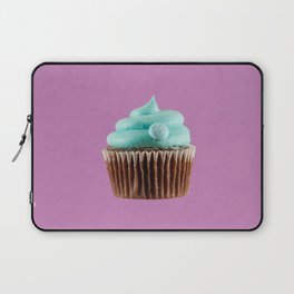 Cupcake Love | Mint Chocolate on Lavender Laptop Sleeve
