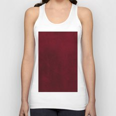 VELVET DESIGN - red, dark, burgundy Unisex Tank Top