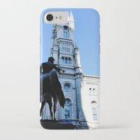 philadelphia iPhone & iPod Cases featuring Onward (Philadelphia) by Julie Maxwell