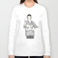 mac Long Sleeve T-shirts featuring Mac DeMarco by Les Gutiérrez