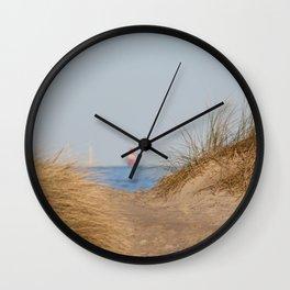 At the beach 10 Wall Clock