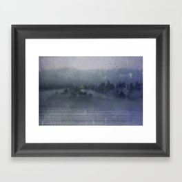 Out of the Mist Framed Art Print