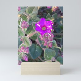Wildflower Bush Mini Art Print