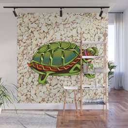 Turtle Knot Wall Mural