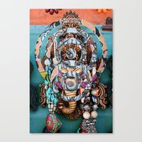 ganesh Canvas Prints featuring Ganesh by Ira Carter